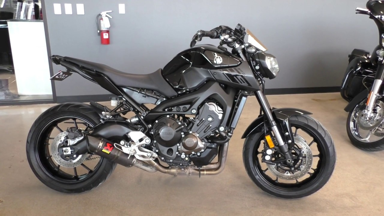 009035 2016 Yamaha FZ 09 Used motorcycles for sale