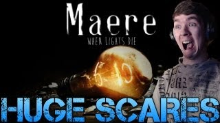 Maere: When Lights Die - HUGE SCARES - French Indie Horror game - Gameplay/Commentary