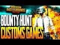 """BOUNTY HUNT"" CUSTOM GAMES FOR SKIN OR PARACHUTE PUBG MOBILE"