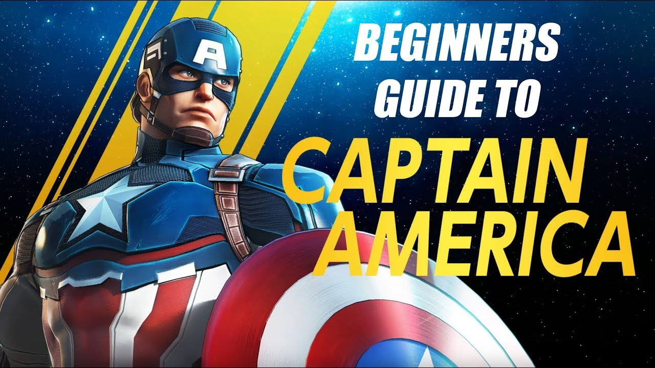 Captain America Beginners Guide - Marvel Ultimate Alliance 3 (MUA3)