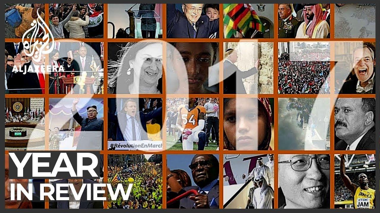 Al Jazeera's year review 2017