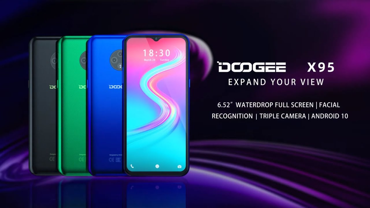DOOGEE X95, The Most Affordable Triple Camera Smartphone, Expand ...