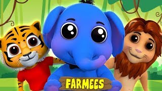 Eeny Meeny Miny Moe | Songs For Children | Kids Rhymes In English by Farmees