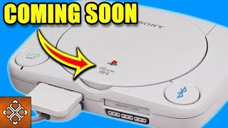 PS1 And 2 Other Classic Consoles Relaunched In 2018 (Sony PlayStation 1)