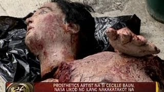 Prosthetics artist na si Cecille Baun, nasa likod ng ilang nakakatakot na karakter sa horror movies