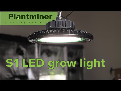 Plantminer S1 LED Grow Light Test And Review