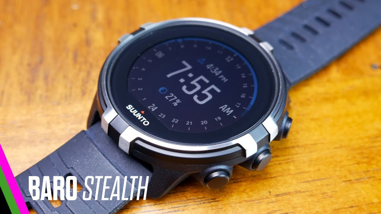 f12e37d3d Suunto Spartan Sport Wrist HR Baro Stealth REVIEW - YouTube