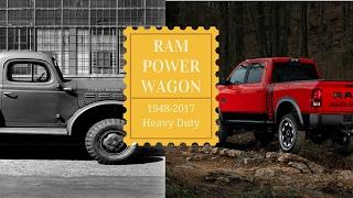1948 Dodge Power Wagon to 2017 RAM Power Wagon