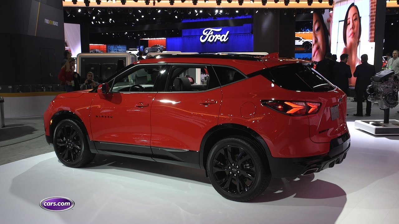 2019 Chevrolet Blazer RS: First Impressions – Cars.com ...