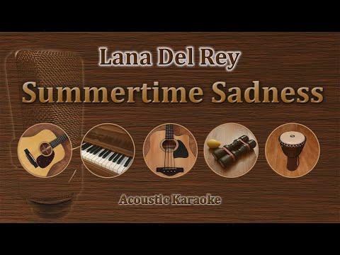 Summertime Sadness - Lana Del Rey (Acoustic Karaoke)