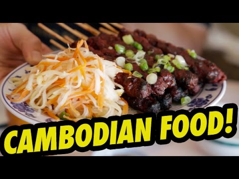 CAMBODIAN FOOD! (Khmer Cusine) - Fung Bros Food