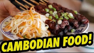 CAMBODIAN FOOD! (Khmer Cusine) - Fung Bros Food