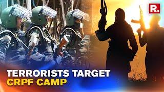 J&K: Terrorists Open Fire At CRPF Camp At Shopian District; One Civilian Killed | Republic TV