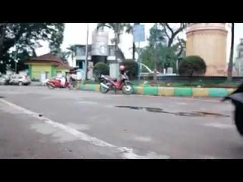 Foods street in Medan