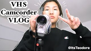 VHS Compact Camcorder VLOG | Thrift store, Makeup Tutorial, Dog Park