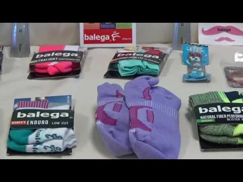 Balega Socks Review and Demonstration