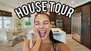 HOUSE TOUR + BUILDING OUR HOME! Natalie & Dennis Show