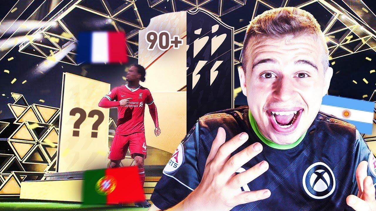Download LE PREMIER PACK OPENING SUR FIFA 22 ULTIMATE TEAM!