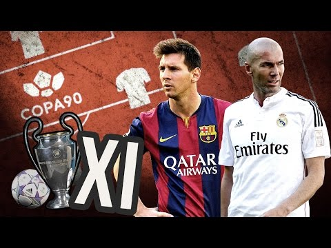All Time Champions League XI -  The Ultimate Champions League Side