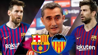 COPA DEL REY FINAL 2019 | Full press conference and training session