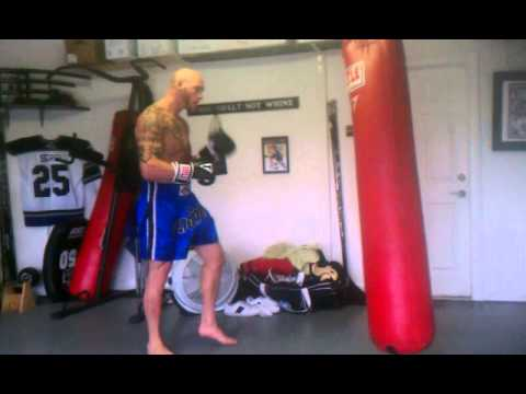 Mike sgroi fights hockey mma cage training