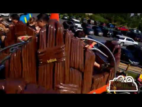 Log Roller Coaster - Yellowstone Bearworld - Rexburg, Idaho