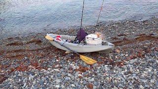 今年初の春イカエギングに行ってきました。 アオリイカの活性はまづめ時に上がるようなので、なるべく釣れるように早朝5時半から釣りを開...