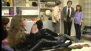 3 women in leather pants from 80s show