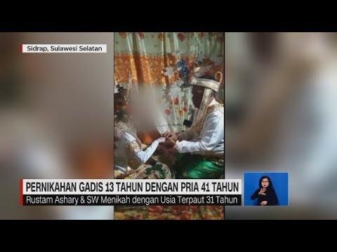 Viral! Pernikahan Gadis 13 Tahun Dengan Pria 41 Tahun