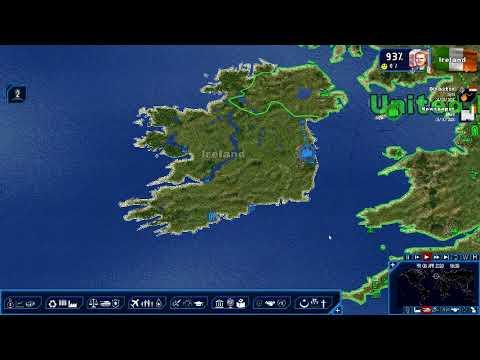 Geopolitical Simulator 4:  Irish Imperialism Ep. 24 - (no video capture) Missiles in Eq. Guinea