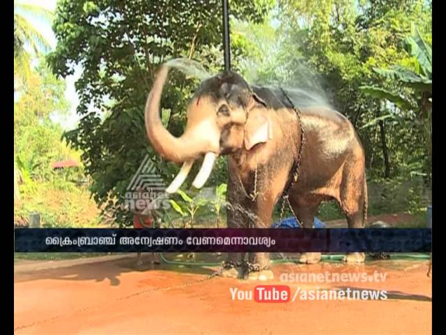 Relatives Demands Crime Branch Investigation on Mahout Shibu Poisoned case | FIR 2 Jan 2016