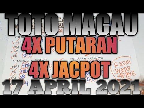 PREDIKSI ANGKA TOP 4D #TOTOMACAU 17 APRIL 2021