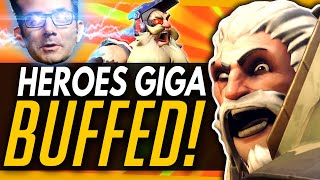 Overwatch | These Heroes Just Got Giga-Buffed - PTR Patch Notes