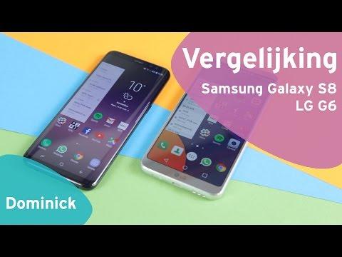 Samsung Galaxy S8 vs LG G6 review (Dutch)