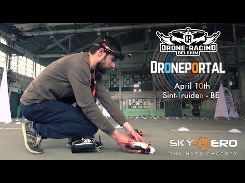 Drone Racing Belgium - Droneportal Event
