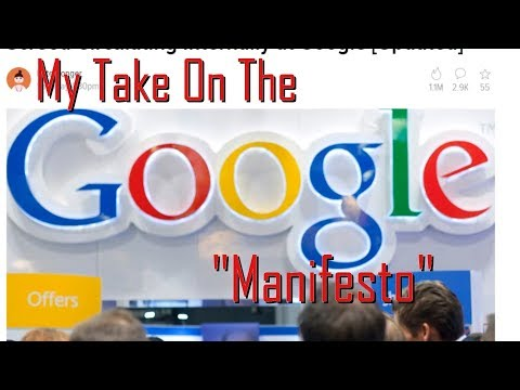 "My Take On The Google ""Manifesto"""