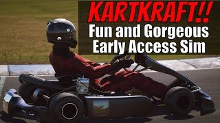 KartKraft Karting Sim Early Access! First Impressions and Test Drive
