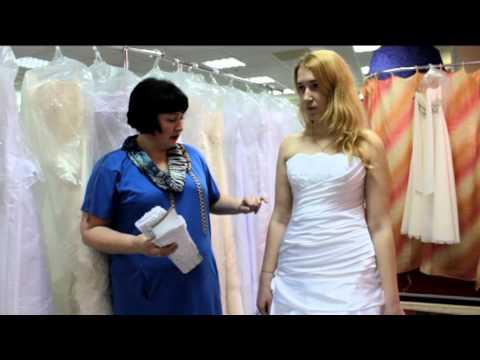выбираем свадебное платье...