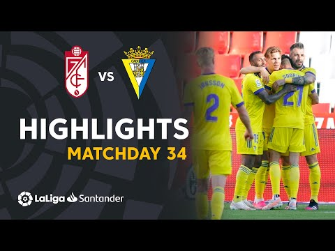 Granada Cadiz Goals And Highlights