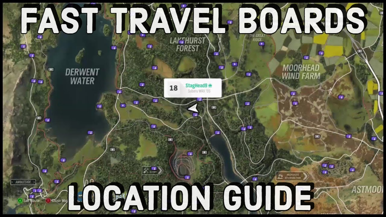 How To Fast Travel For Free In Forza Horizon 4 - Scrap Books