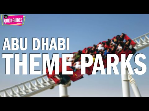 Abu Dhabi's BEST theme parks and waterparks
