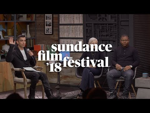 Cinema Cafe with Andrea Riseborough, Jason Mitchell & Moderator Tim Kash