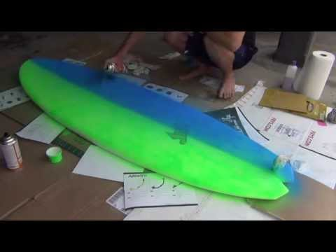 How To Paint Your Surfboard