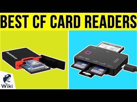 9 Best CF Card Readers 2019
