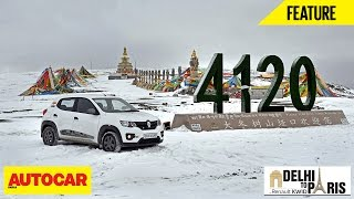 #KwidDrive2Paris | Webisode 05 | The Kwid's Sub Zero Drive In China | Autocar India