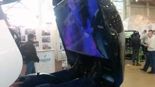 6D Аттракционы на выставке РАППА 2014