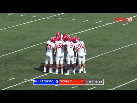 Chaminade Football @ Phillips Academy Chicago (Gateway Scholars Classic)