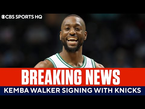 BREAKING: Kemba Walker to Sign With The Knicks  CBS Sports HQ