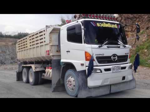 HINO 500 Truck Chonburi Rock mining. Thailand