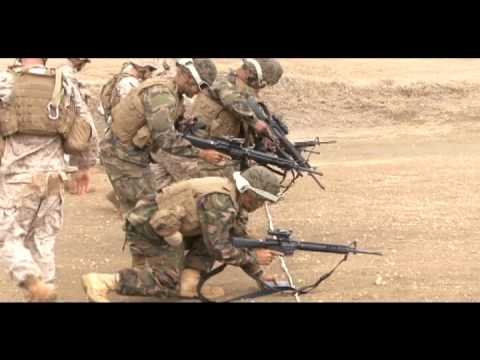 2nd Battalion, Royal Australian Regiment train w/ Tongan Marines - RIMPAC 2010